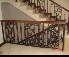 Barandillas de escalera de portal